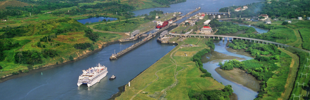 PANAMA CANAL from above